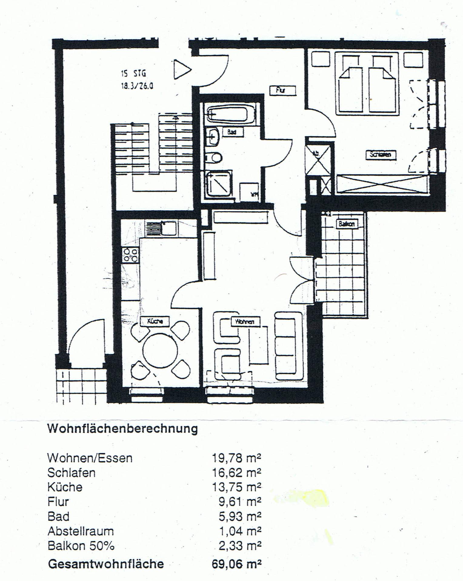68 qm hans jansen immobilien marketing. Black Bedroom Furniture Sets. Home Design Ideas